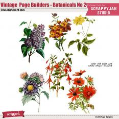 See also Vintage Page Builders - Botanical No 2