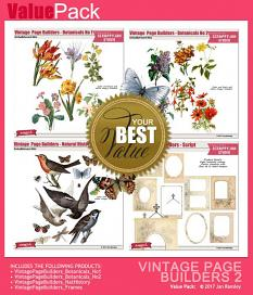 See also Vintage Page Builders Value Pack 2 by Jan Ransley