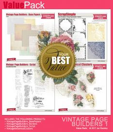 See also Vintage Page Builders Value Pack 1 by Jan Ransley