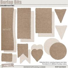 Burlap Bits Embellishment Mini Prev