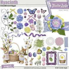 Hyacinth Embellishment Biggie