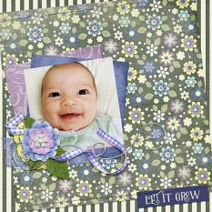 Digital scrapbooking layout by Jennifer Ziegler