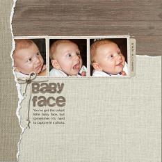 Baby Face by Sue Maravelas