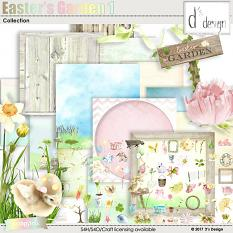 easter's garden 1 collection by d's design