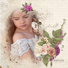 layout using precious memories value pack by d's design