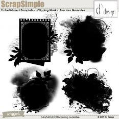 precious memories clipping masks by d's design