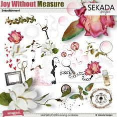 Joy Without Measure Embellishment Mini