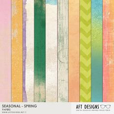 Seasonal Spring Papers Included in this Value Pack