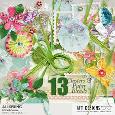 All Spring Embellishment Clusters and Blends by Amanda Fraijo-Tobin
