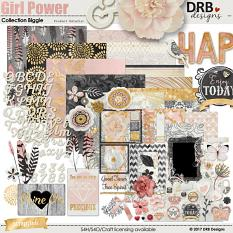Girl Power Collection Biggie by DRB Designs | ScrapGirls.com