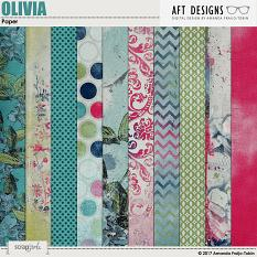 Olivia Papers by AFT Designs - Amanda Fraijo-Tobin @ScrapGirls.com