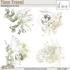 time travel embellishment accents by d's design