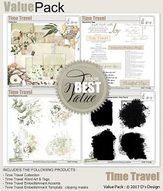 time travel value pack by d's design