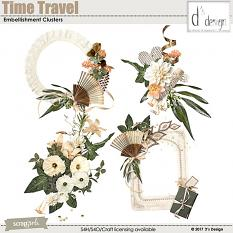 time travel clusters by d's design