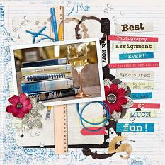 Best Photography Assignment Ever layout by Laura Louie