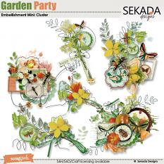 Garden Party Embellishment Mini Cluster