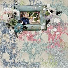 layout using ScrapSimple Tools - Styles: Dream by Florju designs