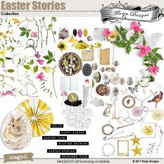 Easter Stories Embellishment Biggie by Florju Designs