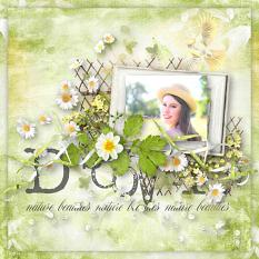 layout using cheerful nature value pack by d's design