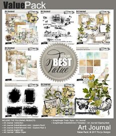 Value Pack : Art Journal by Florju Designs