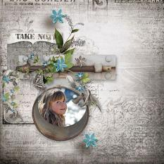 layout using Pocket Life: Creativity by Florju Designs