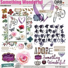 Something Wonderful Embellishment by DRB Designs | ScrapGirls.com