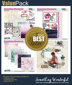 ALSO AVAILABLE: Something Wonderful Value Pack | ScrapGirls.com