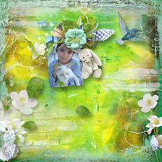 layout using Value Pack : Blue Spring by Florju Designs