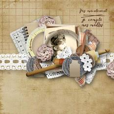 Layout using Hand Made Collection Biggie by Florju Designs