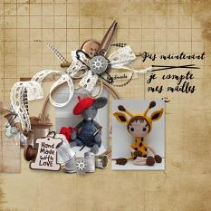 layout using Pocket Life: Hand Made by Florju Designs