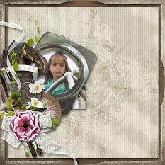 layout using Evasion Collection by Florju Designs
