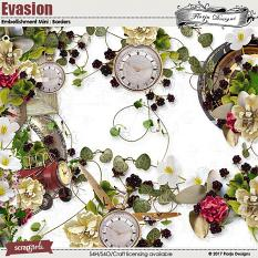 Evasion Embellishment Mini Border by Florju Designs