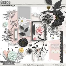 Grace Embellishment Biggie by Brandy Murry