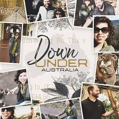 Down Under layout by Brandy Murry