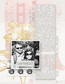 San Francisco layout by Brandy Murry