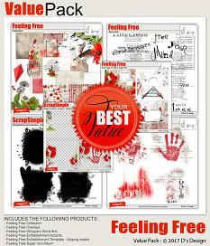 feeling free value pack by d's design