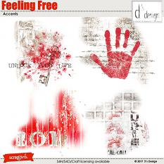 feeling free accents by d's design
