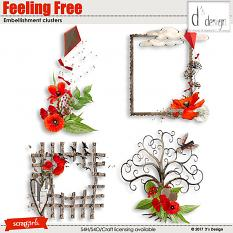 feeling free clusters by d's design
