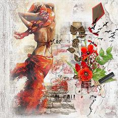 layout using feeling free value pack by d's design