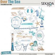 Over The Sea Embellishment Mini