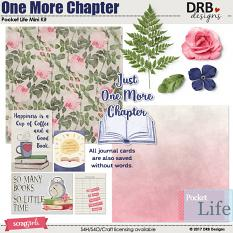 Pocket Life: One More Chapter Mini Kit by DRB Designs | ScrapGirls.com