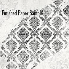 ScrapSimple Paper Templates: Painted Overlays Set 03 Finished Paper