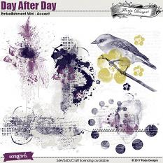 Day After Day Embellishment Accents by Florju Designs