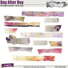 Day After Day Embellishment Masking Tape by Florju designs