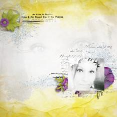 layout using Day After Day Collection by florju designs
