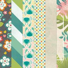 Summer Story Paper Closeup