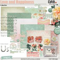 Love and Happiness Collection by DRB Designs | ScrapGirls.com