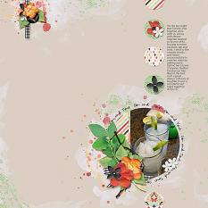 Layout by Bekki using The Sweetest Days - Collection Biggie