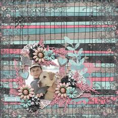 Layout by Olga using #BestFriends Collection Biggie