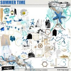 layout using Summer Time Collection Biggie by florju designs